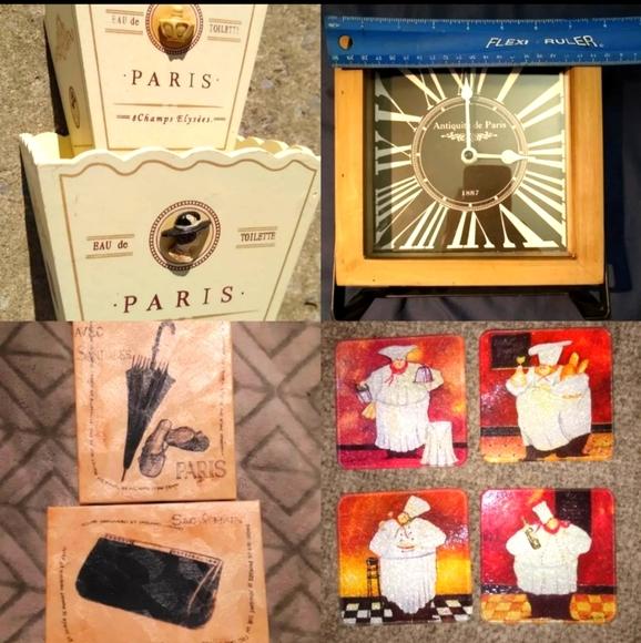 9 piece Paris bunch